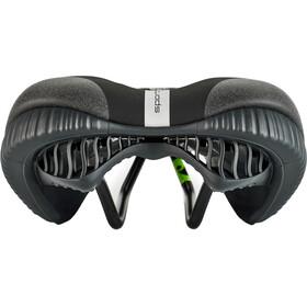 Sportourer Garda Gel Selle pour VTT Flow Femme, black